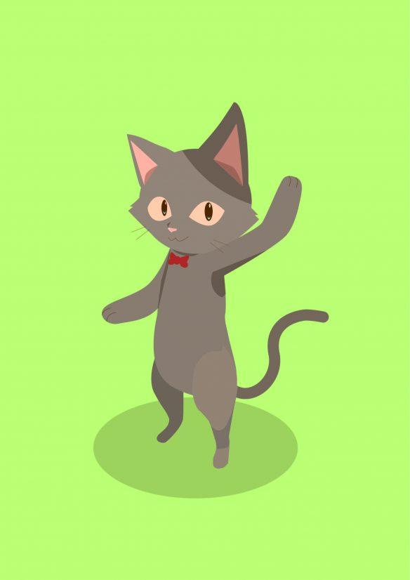 猫の預かりサービス キャラのつぶやき